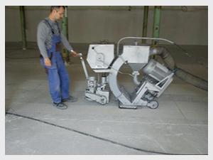 Tryskání betonu ceník